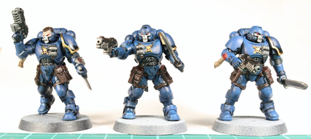Washed Space Marines